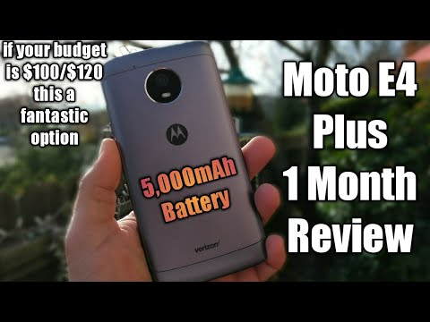 Moto E4 Plus 1 Month Review