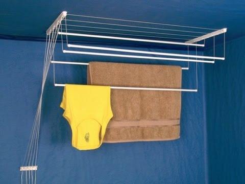Просто о важном: потолочная сушилка для белья на балкон