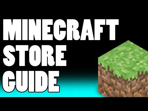 Minecraft Shops Tutorial Guide! Inspiration And Ideas For Minecraft Item Stores!