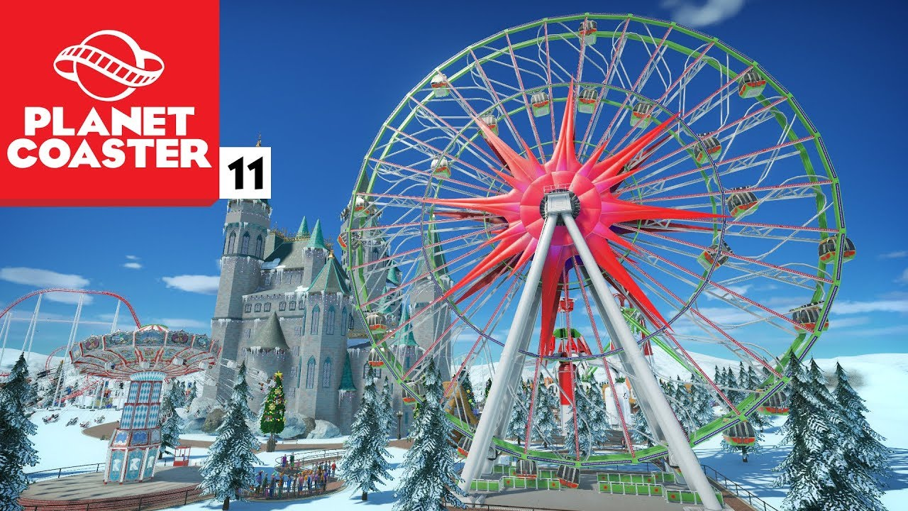 A MAIOR RODA GIGANTE DO MUNDO | Planet Coaster de Natal #11