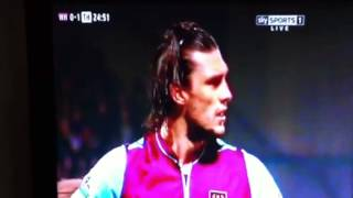 Andy carroll penalty against westham 25/2/2013