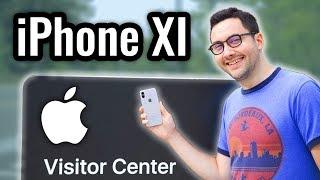 Je recherche l'iPhone XI chez Apple Park !
