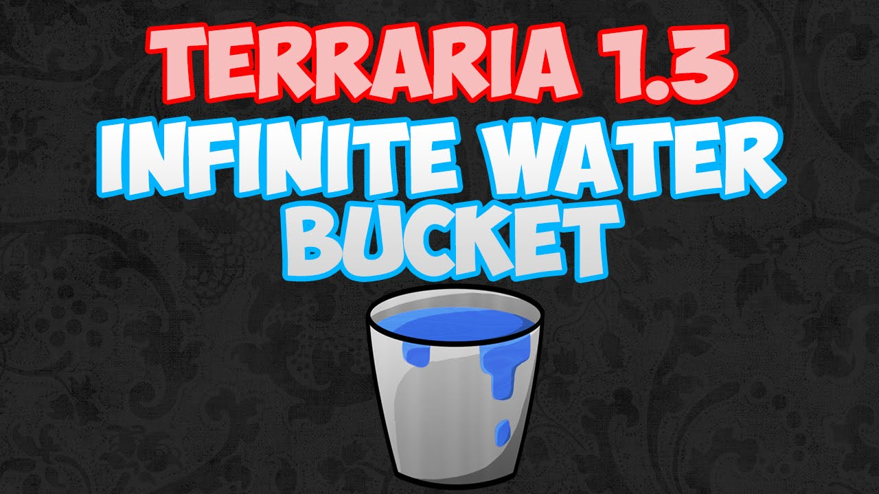 terraria how to get rid of water