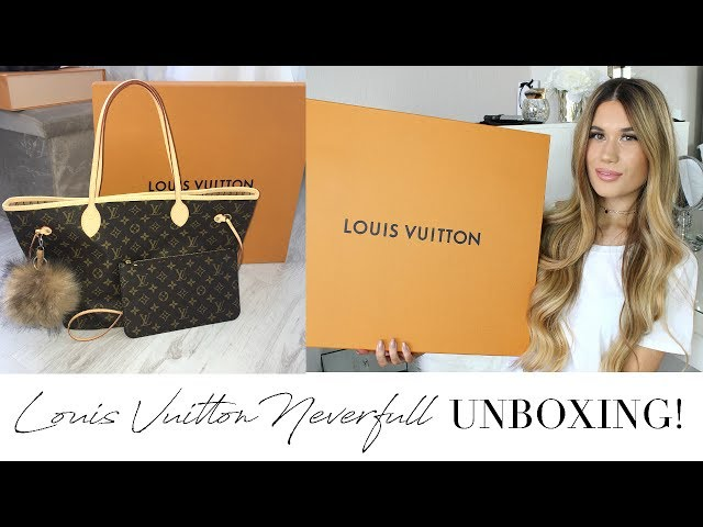 Louis Vuitton Neverfull MM Monogram Unboxing + Bag Charm!
