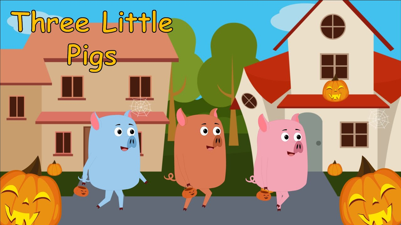 Baby Piggy   The Three Little Pigs   Halloween Songs for Kids   Trick or Treat   Super Toddlers