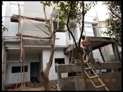 Bangun Rumah Minimalis Mewah 2 Lantai di Bintaro oleh Arsitek dan Kontraktor PT AMP Kontraktor Rumah