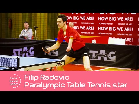 Para Table Tennis star Filip Radovic: Montenegro's Paralympic hopeful | Trans World Sport