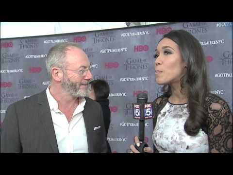 DAVOS SEAWORTH - Liam Cunningham Interview - Game of Thrones