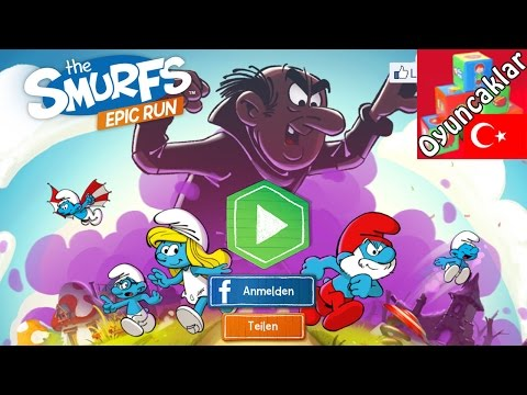 The Smurfs Epic Run Mobil Oyunu -...