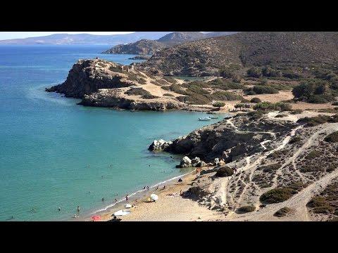 Αρχαία πόλη και παραλίες Ιτάνου - Ancient city and Beaches at Itanos in 4K