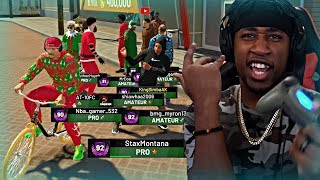 RUNNING POINT GUARD FOR THE MOST LIT SQUAD ON YOUTUBE! KING SHAWN AND JUICEMAN PULLED UP! - NBA 2K19