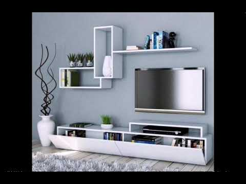 35 Simple 📺 TV Unit Designs For Living Room :: Modern TV 📺 Wall Designs