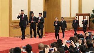 直播回看:十九届中共中央政治局常委同中外记者见面 | CCTV