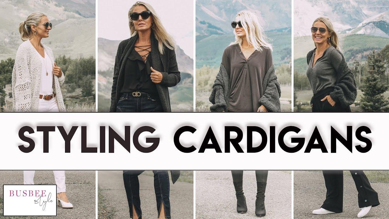 7 Ways to Wear a Cardigan Sweater