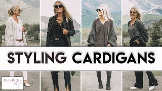 7 Ways to Wear a Cardigan Sweater