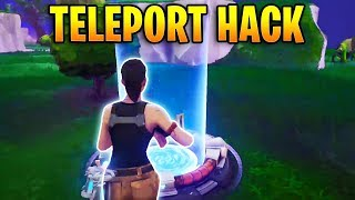 TELEPORT HACKER KILLS EVERYONE?! | Fortnite Best Stream Moments #3 (Fortnite Teleportation Hack)