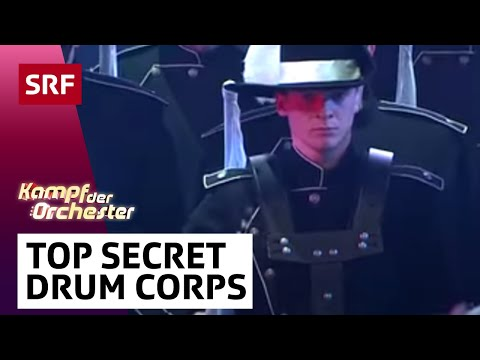 Drum-Show vom Top Secret Drum Corps - #srfkdo