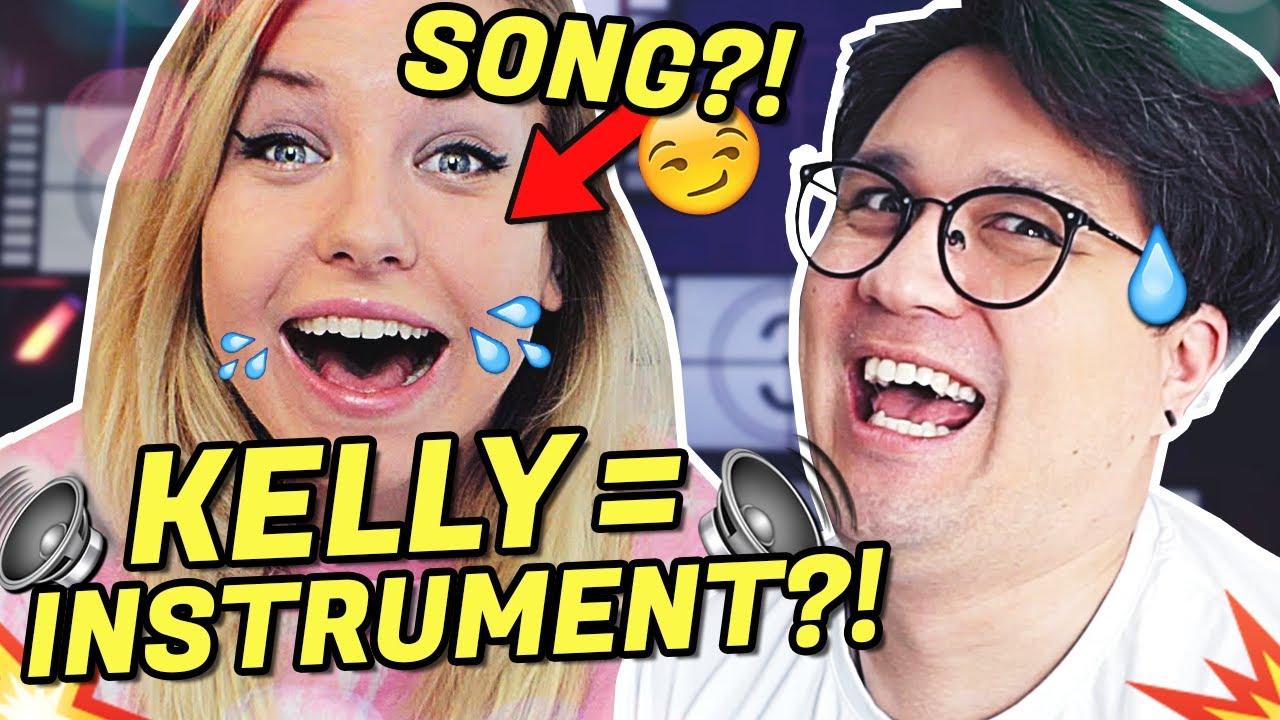 Aus KELLY'S STIMME einen SONG produzieren?! | Vincent Lee