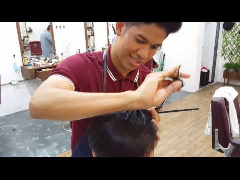 Stefan the barber - Haircut by  ' EikQue  ' Three brother Barbershop