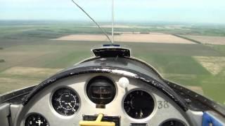 Полет на планере.Новосибирск.