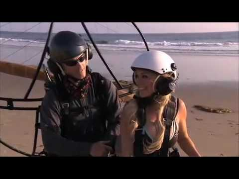 Bridget with Malibu Paragliding - Travel Channel