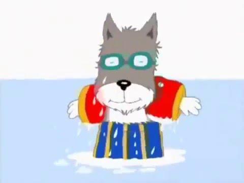 Kipper the Dog. The Swimming Pool