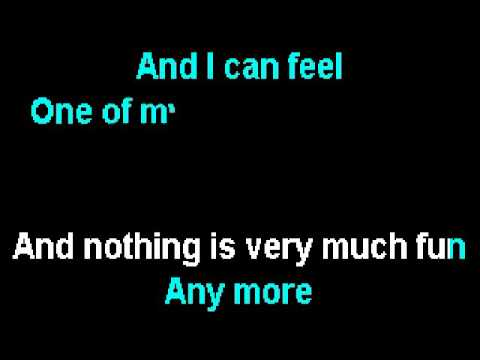 Pink Floyd - One of My Turns (Karaoke Instrumental) On Screen Lyrics