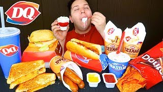 My First Time Trying Dairy Queen • MUKBANG