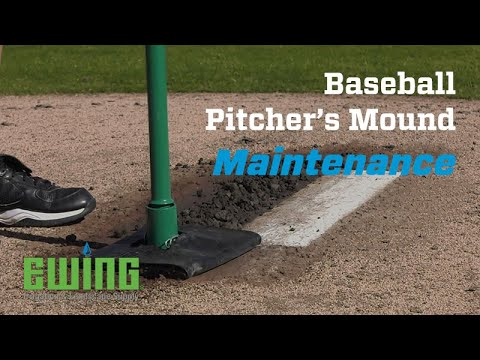 How To Repair A Baseball Pitcher's Mound
