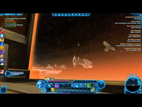 SWTOR - Body floating outside republic fleet