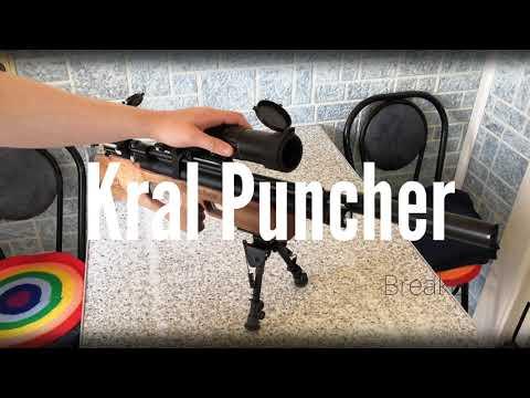 Винтовка Kral Puncher Breaker W. Обработка маслом.