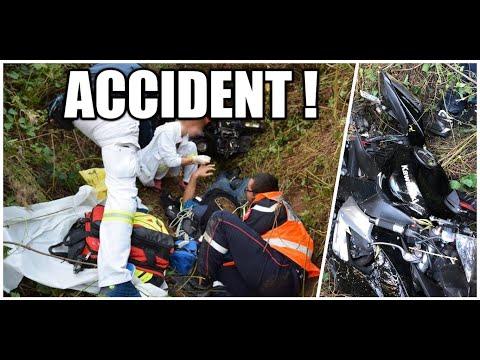 LE JOUR OU LA MORT M'A OUBLIÉ 💀1/2 ACCIDENT NOUVELLE MOTO
