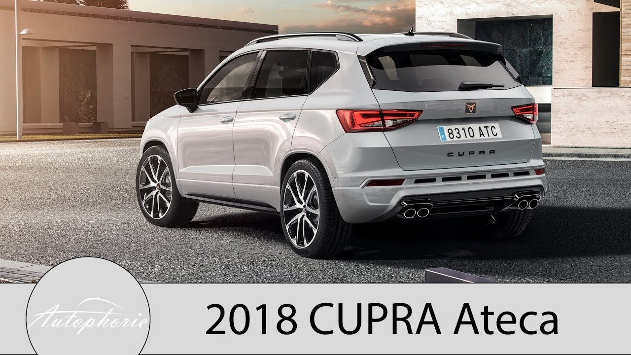 2018 cupra ateca 300 ps kompakt suv und cupra e racer. Black Bedroom Furniture Sets. Home Design Ideas