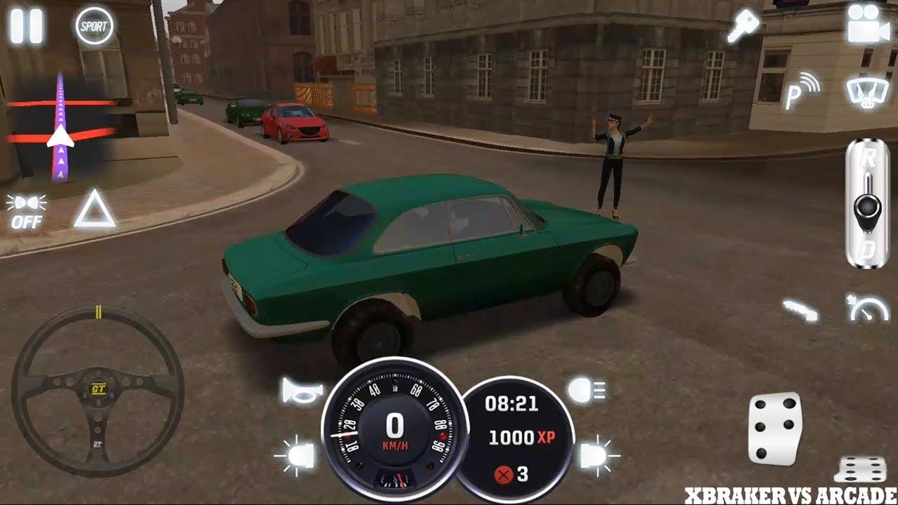 Arcade Driving School >> Driving School Classics Cars Simulator 2019 New Classic Car Unlocked Android Gameplay 2 Fhd