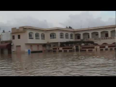 Floods hit towns in the north west of Tunis