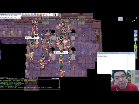 RAG: idnChao Playing Ragnarok Online | WoE 8th Herezy GRAVINDO RAGNAROK (Hack)