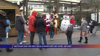 Yvelines | Retour sur un des seuls marchés de Noël de SQY