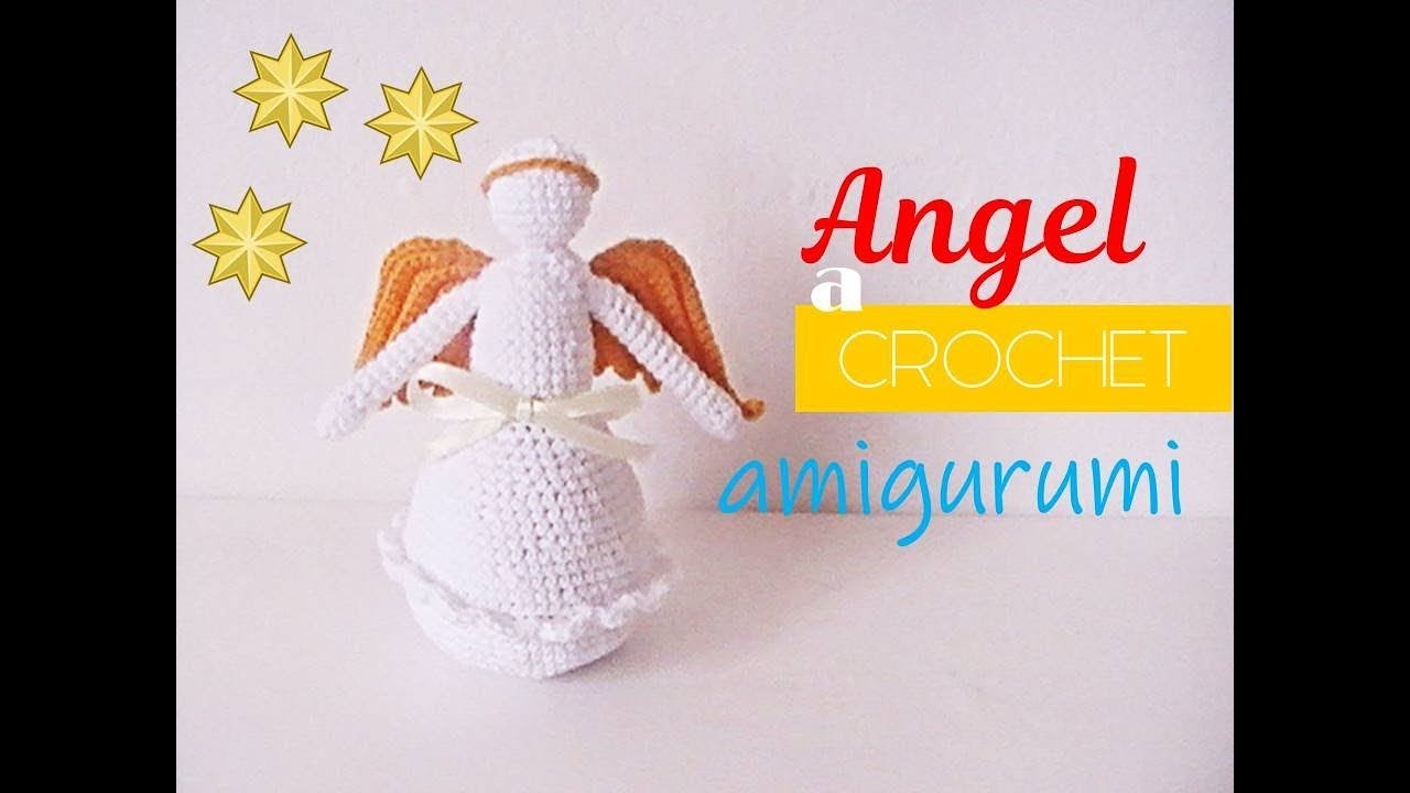PATRÓN/PATTERN Instrucciones Angel de la guarda Amigurumi | Etsy | 720x1280