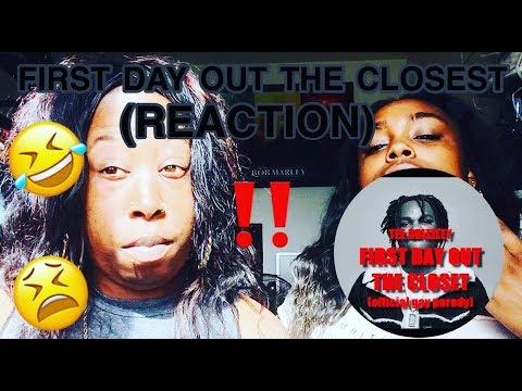 tee glizzley first day out the closet parody reaction youtube. Black Bedroom Furniture Sets. Home Design Ideas