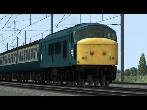 BR Class 45 Peak. Peterborough to St Neots (Train Simulator 2015) LOCO TV UK |
