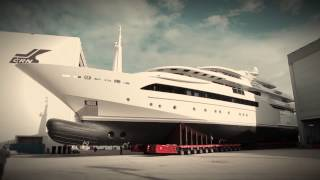 Superyacht Chopi Chopi Leaves the Shed at CRN