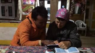 Непал 2016 Сагарматха - обучение языкам на треке???