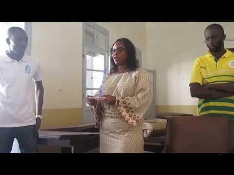 Remise du trophée « Jovago Tourism Award 2015 » à la municipalité de Gorée