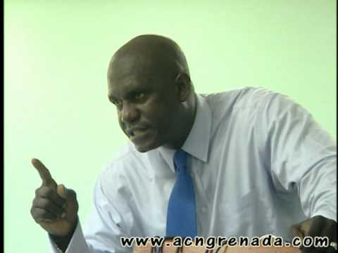Grenada Newspaper Editor George Worme presented with facts by Fmr Trade Ambassador Patrick Antoine