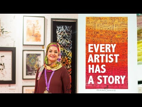 She SOLD her works to HELP Victims