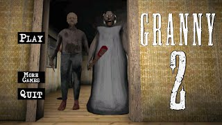 OMG!! GRANNY 2 IS OUT!!!! (Horror Game)