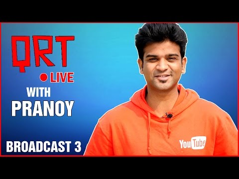 QRT LIVE with PRANOY | Broadcast 3