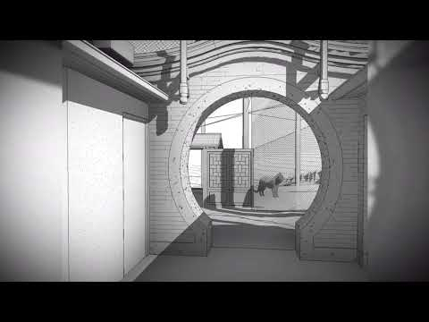 Asian Highlands 3D rendering