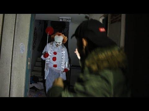 ich habe Pennywise den Clown gefunden! (so gruselig)