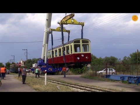 The Transfer of Rack Railway's Passenger car from Athens to Kalavrita.